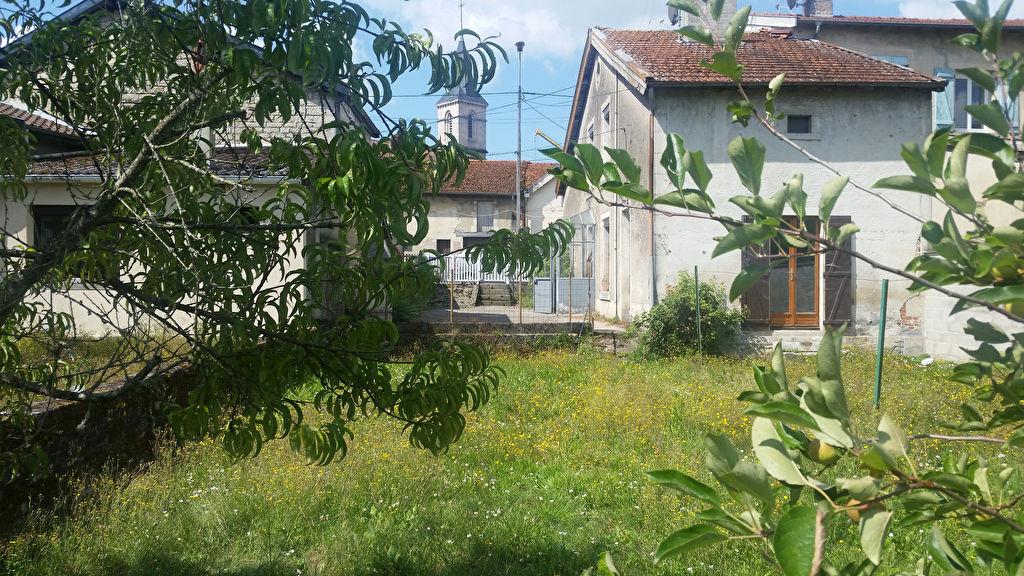 Maison de village de 70 m² à Rénover avec Grenier, Terrasse avec Barbecue, Garage, Dépendance et Terrain clos, arbore de 352 m²