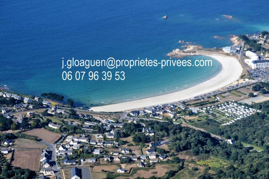 Maisonnette en vue mer et plage à pied
