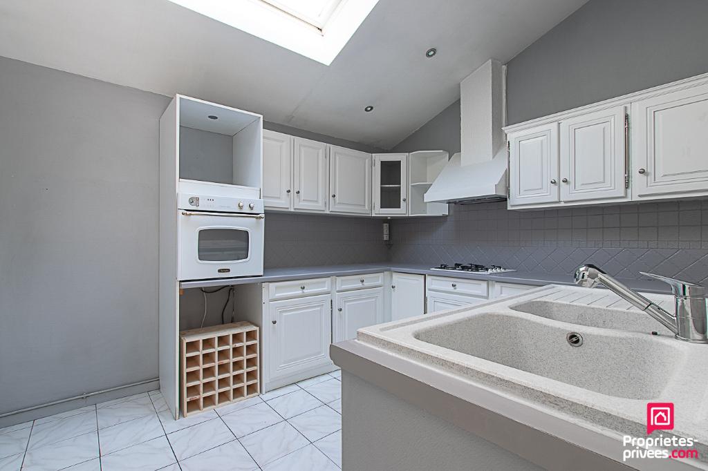 Maison Le Petit Quevilly 5 pièces, grande terrasse et garage