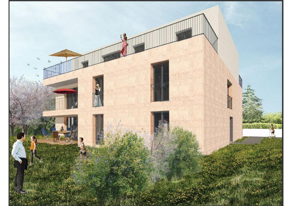 Appartement Bordeaux Caudéran, 4 chambres, 107 m2, 85 m² de terrasse