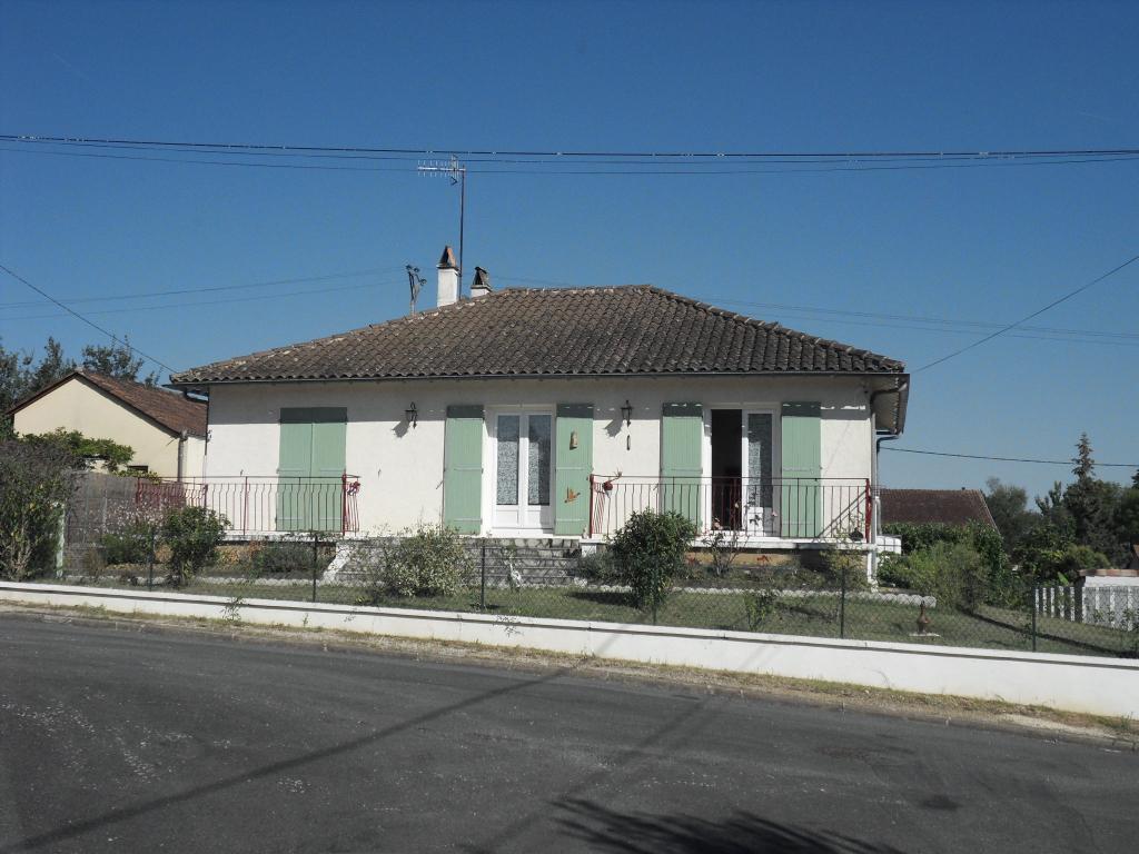 Maison plain pied 3 pièce(s) 80 m2 jardin