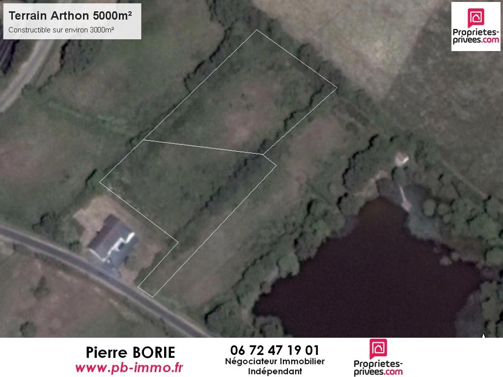Terrain Arthon 5000 m2