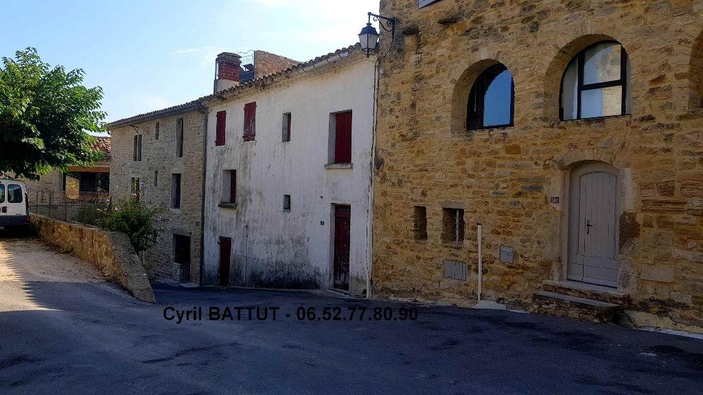 Maison de village à réhabiliter, Martignargues 5 pièce(s) 75 m2
