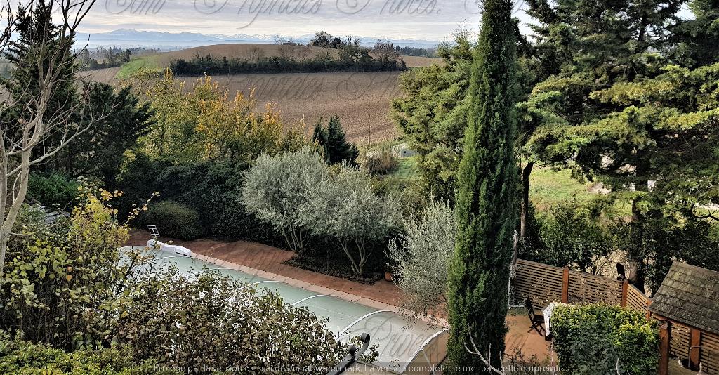 Demeure de prestige Castelnaudary  Vu sur les Pyrenées 200 m2 avec piscine