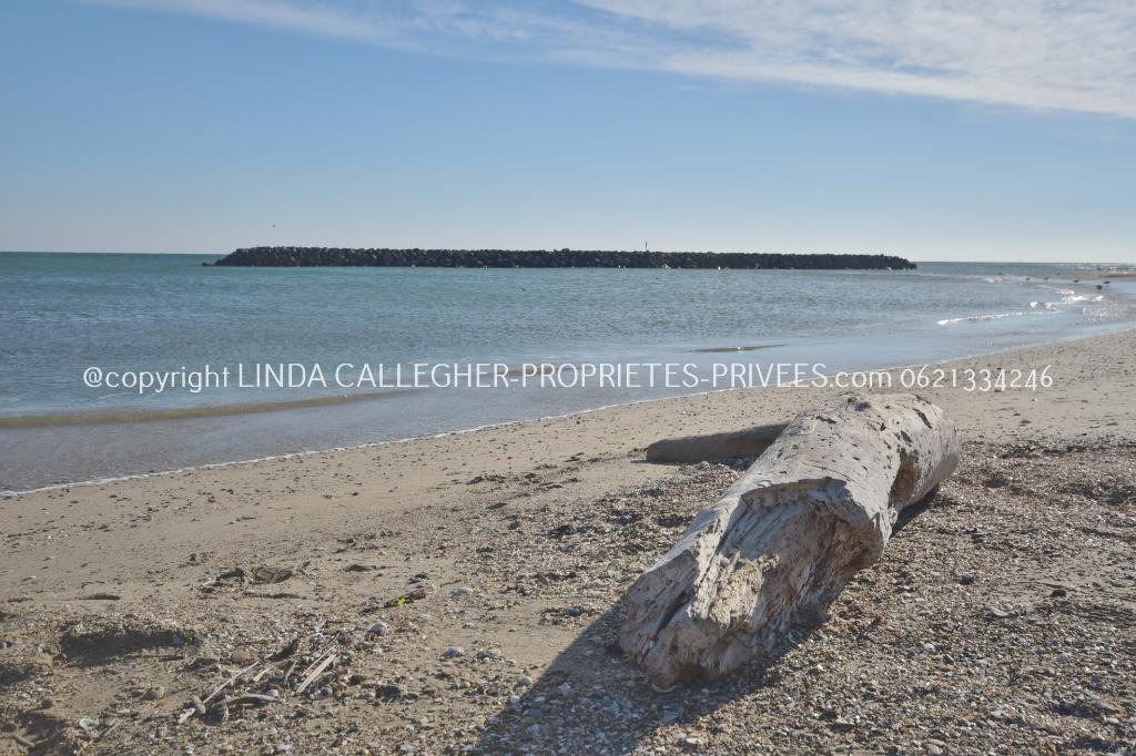 T2, avec 70m2 de jardin, parking, plage Roquille et Naturistes, Cap d'Agde 34300