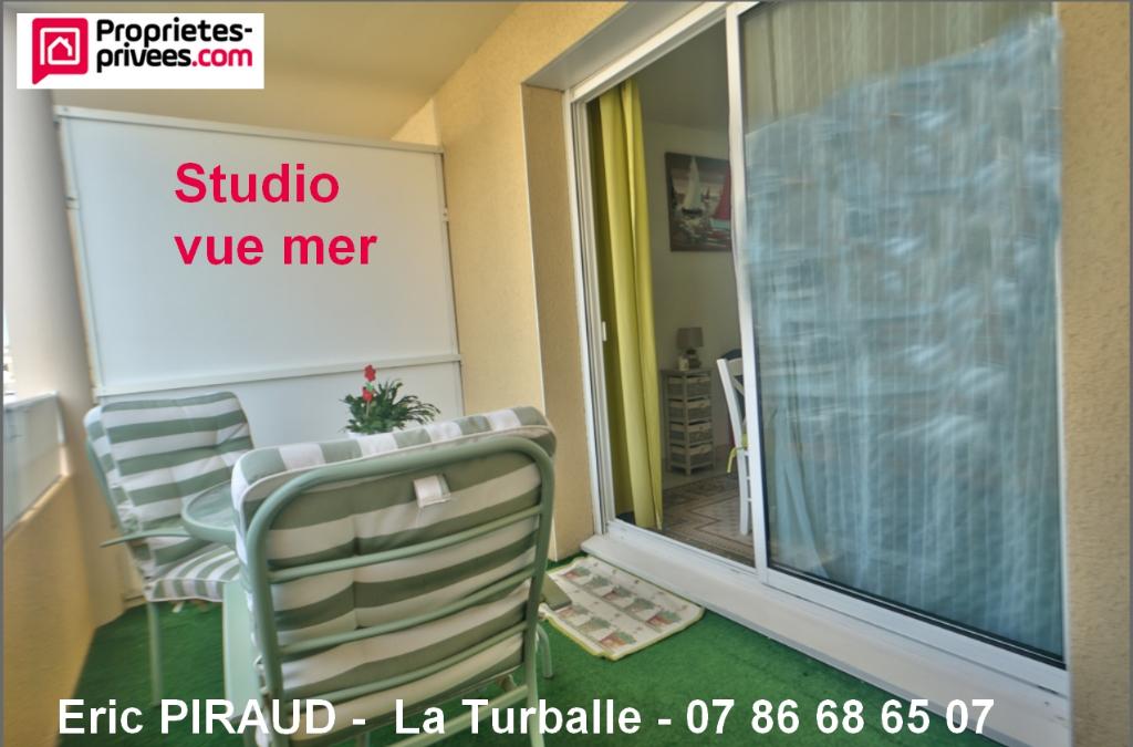 La Turballe,  Studio cabine avec vue Mer, 24 m²