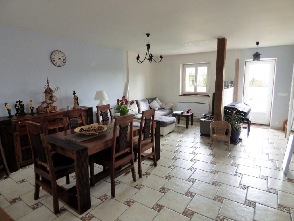 MARVILLE MOUTIERS BRULE 28500 Maison individuelle - 1 étage - 3 chambres - Terrain - Cabanon en bois - 174 000  HAI