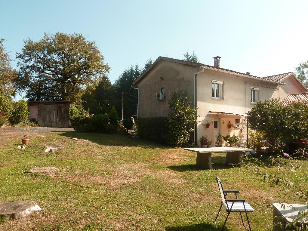 A vendre 81100 villa d'architecte T7 avec garage sur 5000 m2
