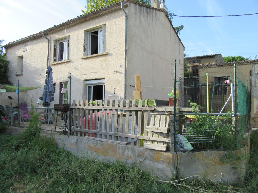 OPPORTUNITÉ maison 75m² avec jardin et garage + autre maison à rénover de 75m²