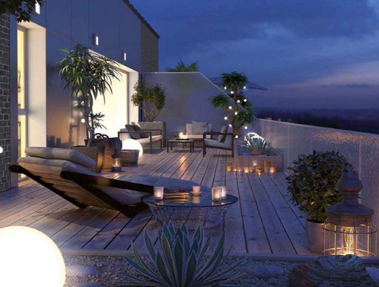 Appartement  4 pièce(s) 102 m2 + Balcon 10 m2