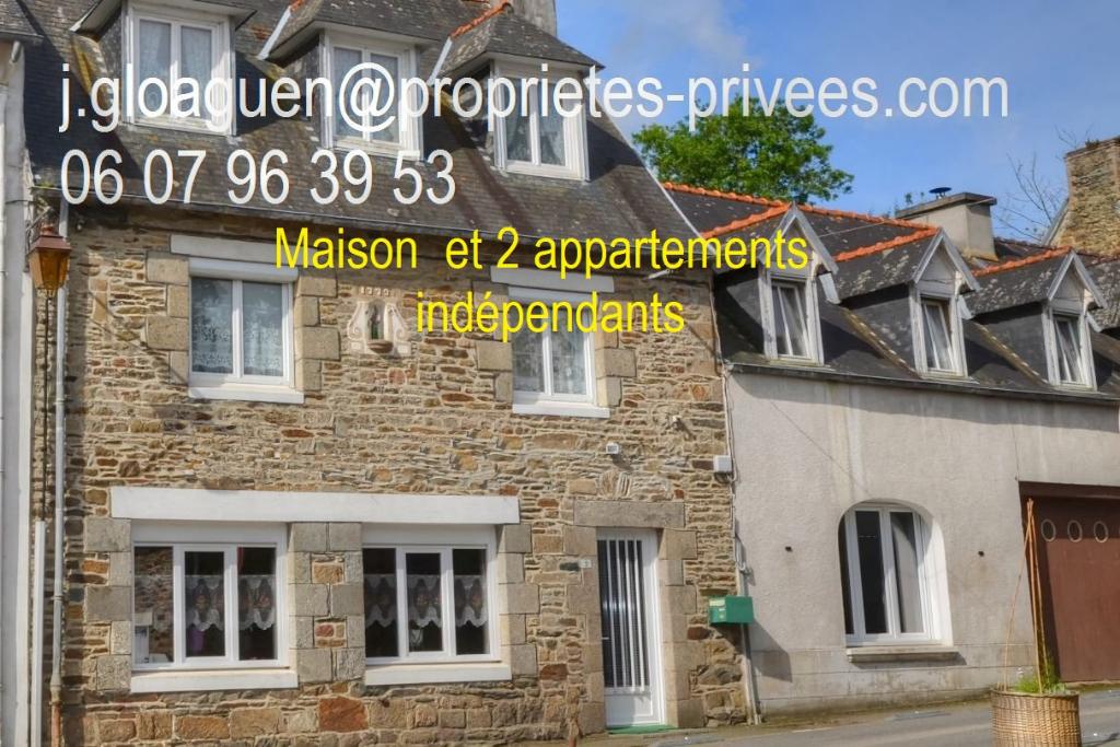Maison  et 2 appartements indépendants