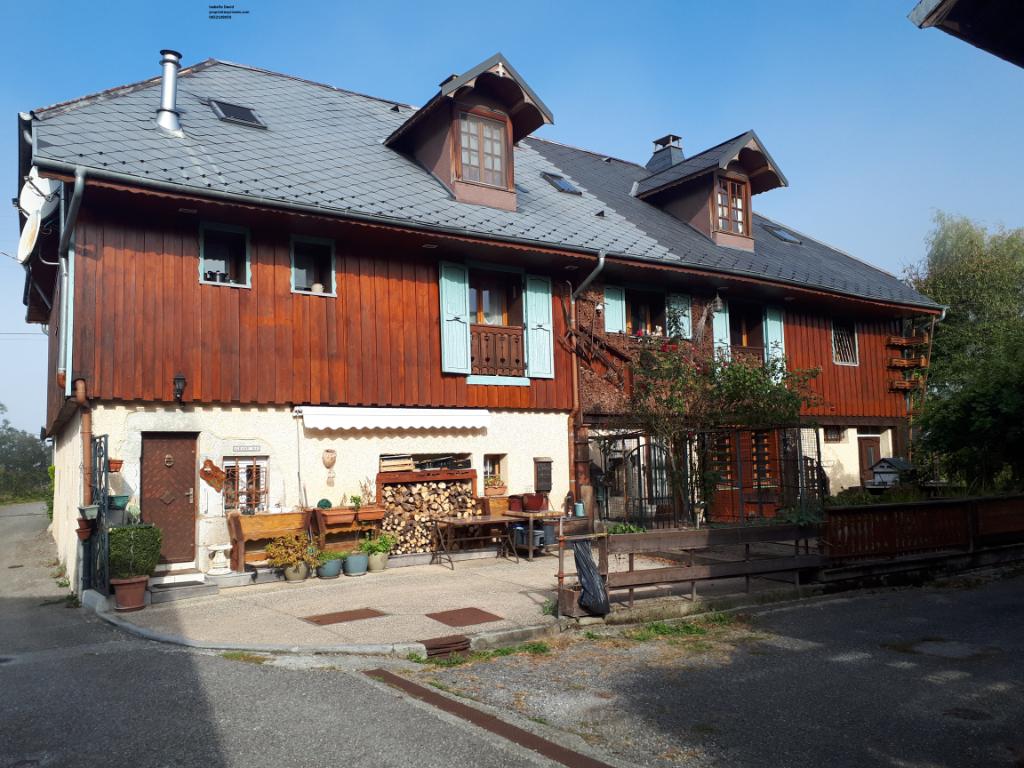73410,Maison, Mognard, en exclusivité,5 pièce(s) 169 m2, 3 chambres , mitoyenne, aménagement possible studio
