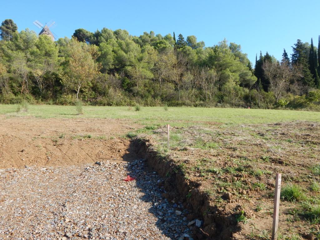 A 10 minutes de Carcassonne 3 magnifiques terrains viabilisés