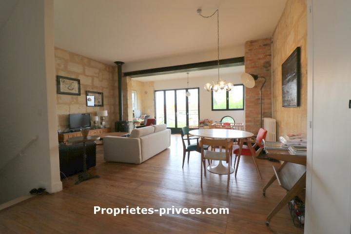 Bordeaux- Bègles  Maison en pierre 6 pièces 150 m2, jardin