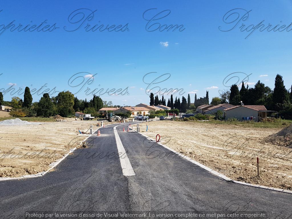 Terrain  viabilisé  603 m2- Lotissement de 6 lots