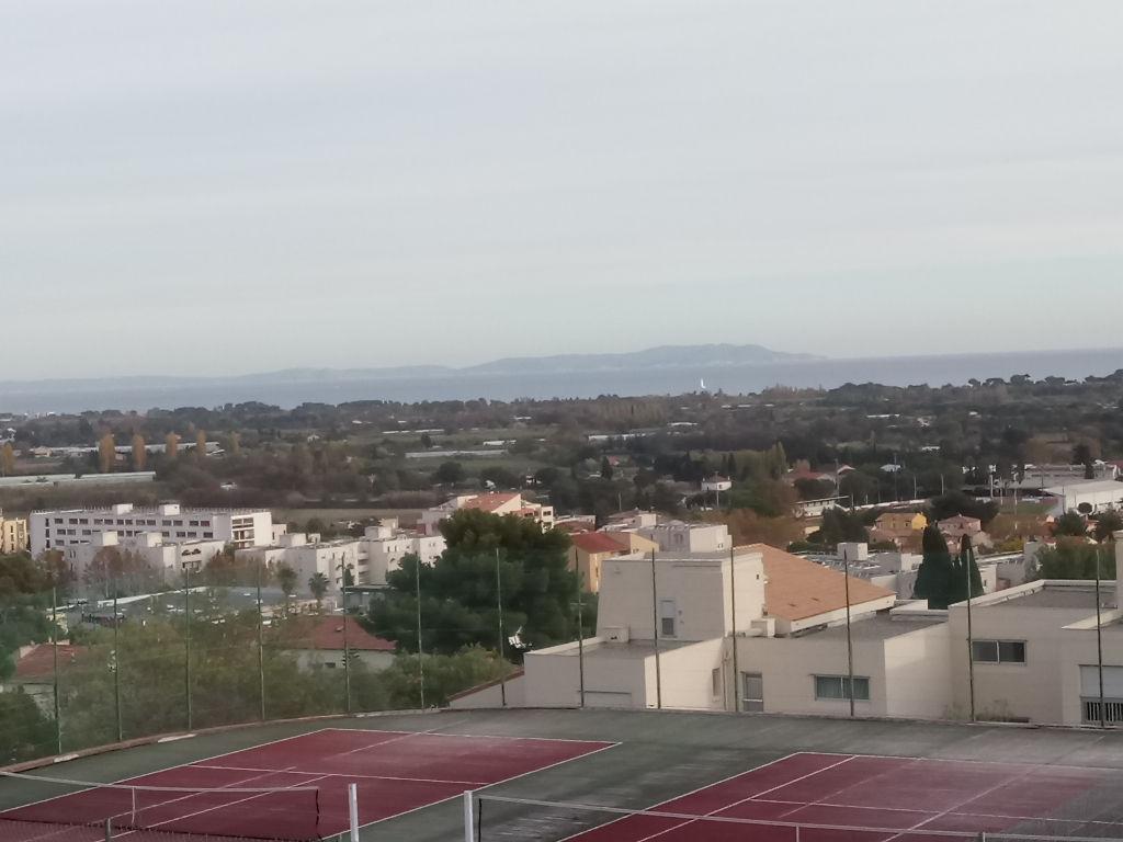 hyères - T3 vue mer piscine tennis