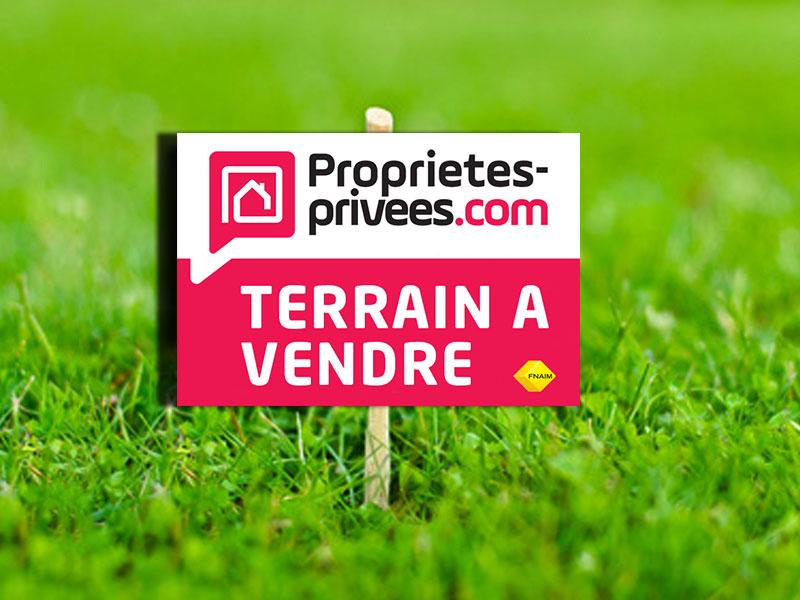 Terrain à bâtir de 734 m2 viabilisé à Soulignonnes
