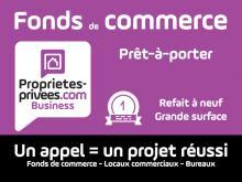 Fonds de commerce Pret a porter,chaussure cuir,pas de porte local Nantes 60 m2