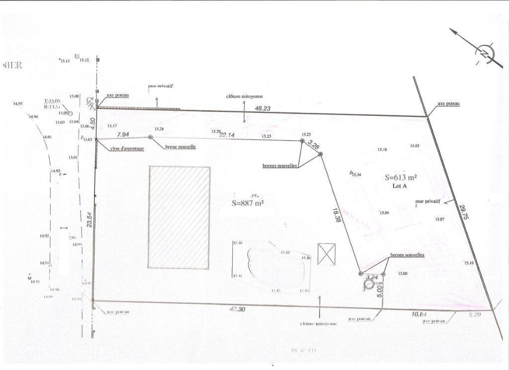85300 CHALLANS - Beau terrain à bâtir proche centre et accès voie rapide
