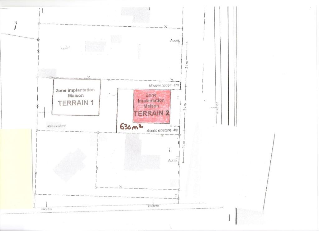 85160 SAINT JEAN DE MONTS OROUET - Beau terrain de 630 m2