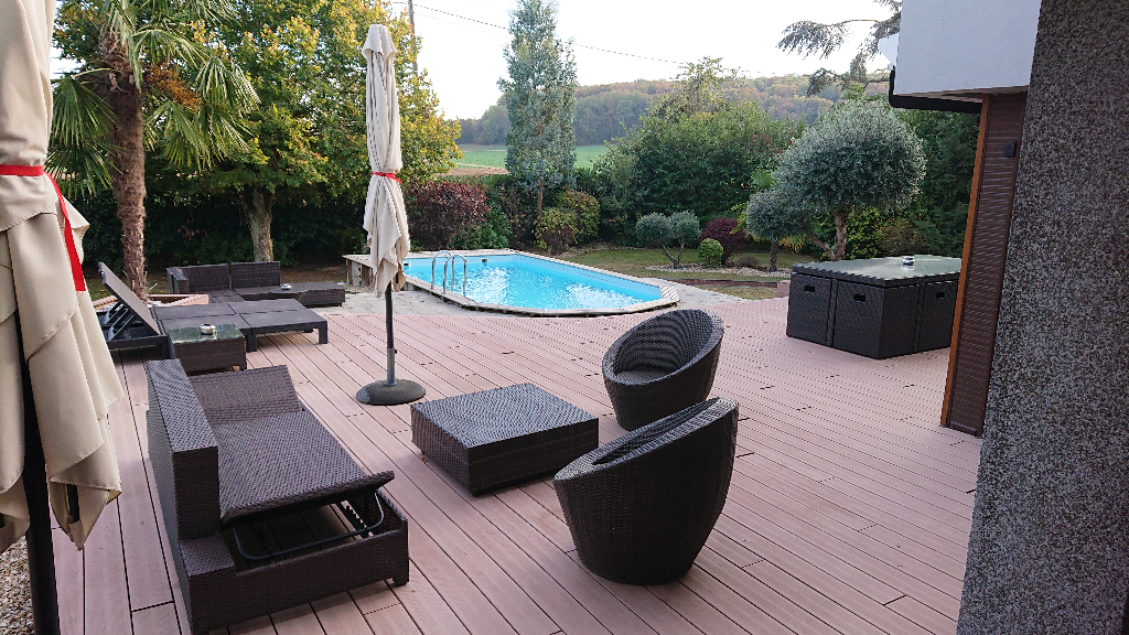 Maison d'architecte 6 pièces  - 160 m2 - Piscine - Itteville 91760
