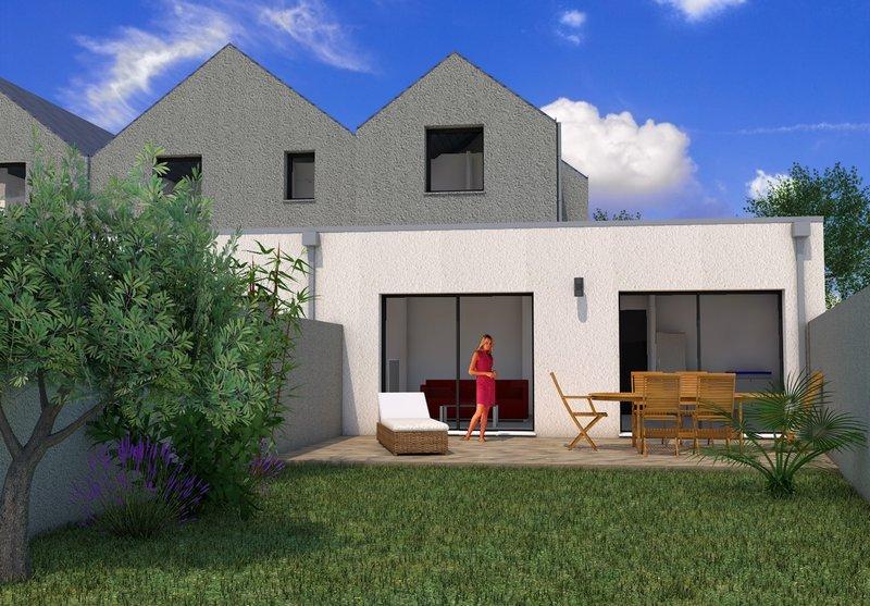 Maison neuve 3 chambres, jardin et garage