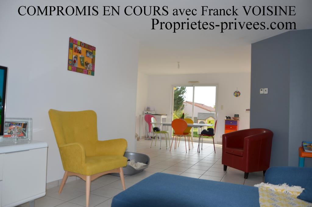 Maison Plain pied Beaurepaire Centre- 3 Chambres -95 m2