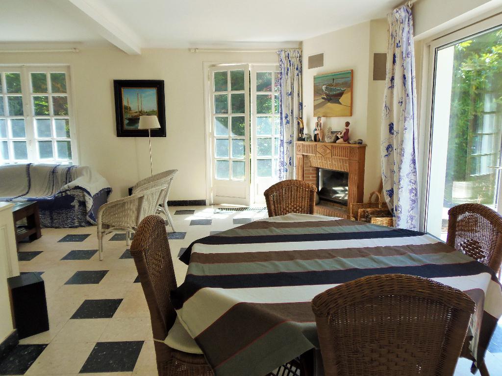 Maison hardelotoise  5 chambres proche plage et centre