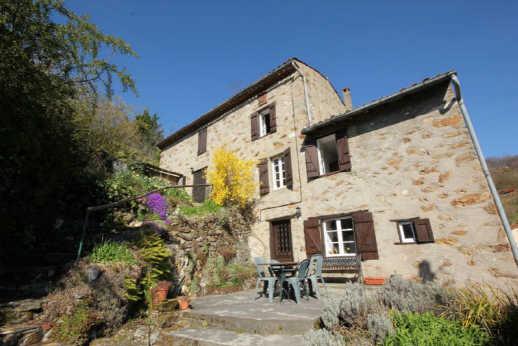 Maison en pierre - Montoulieu - 220 m2 sur terrain de 1000m2