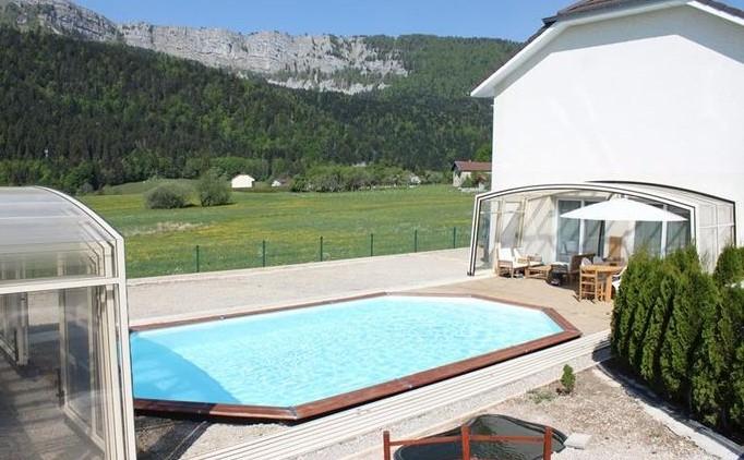 25370 Jougne, Les Echampés, Maison BBC 168m², double garage, piscine, ?