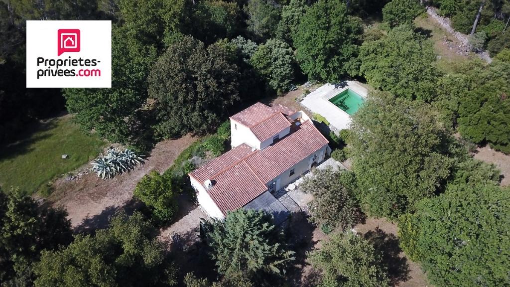 Villa Lorgues 6 pièces 120 m2 sur 2 hectares en pleine nature