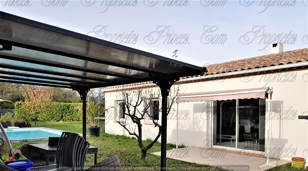Villa plain pied avec piscine 5 pièce(s) 100 m2