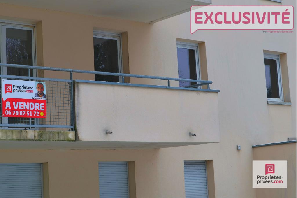 Tourcoing, T3 de 62 m2 avec Balcon et Parking