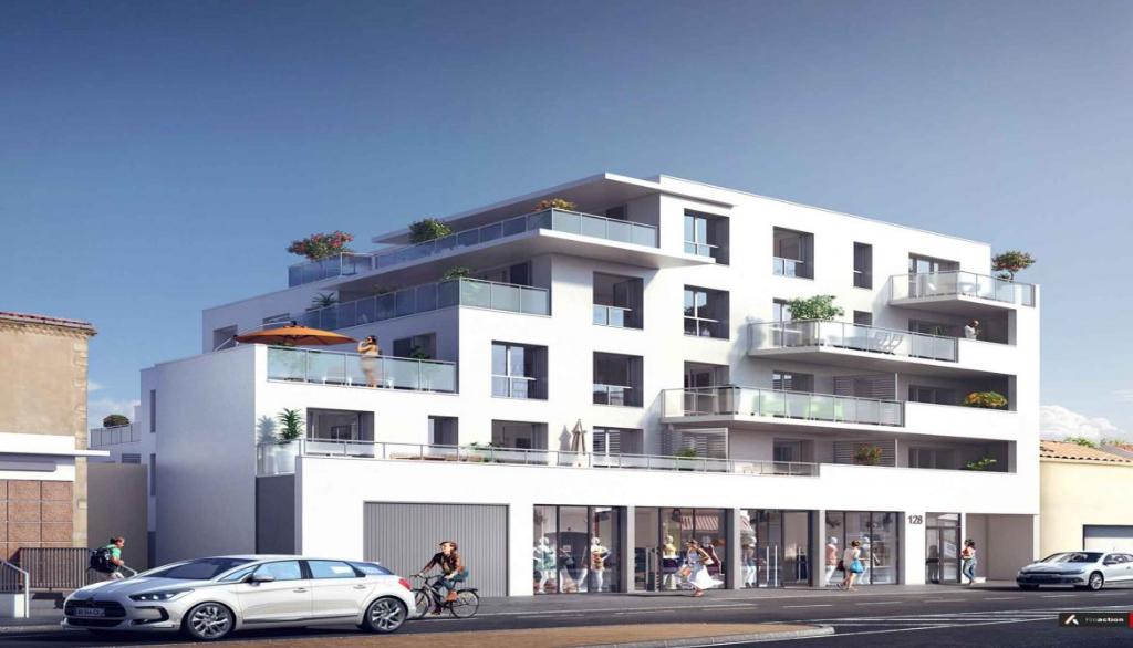 La Rochelle (17), Appartement  neuf 4 pièces en 3 ch. de 85.51 M2 + Terrasse de 22 M2