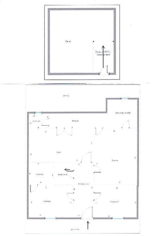 vente echoppe bordelaise 70 m bordeaux 33200. Black Bedroom Furniture Sets. Home Design Ideas
