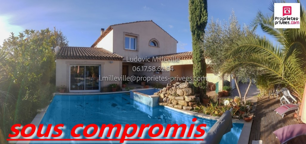 Magnifique villa de 180m² avec piscine et garage