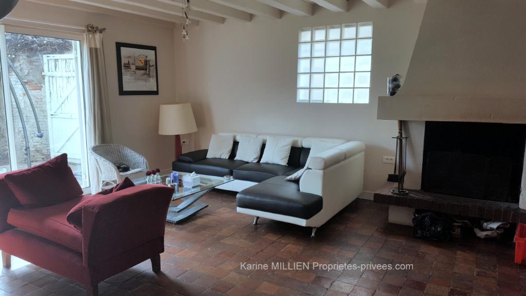 DREUX 28100 Maison style longère - 1 étage - 4 chambres - Dépendance environ 70 m² aménagée - Terrain - 270 000  HAI
