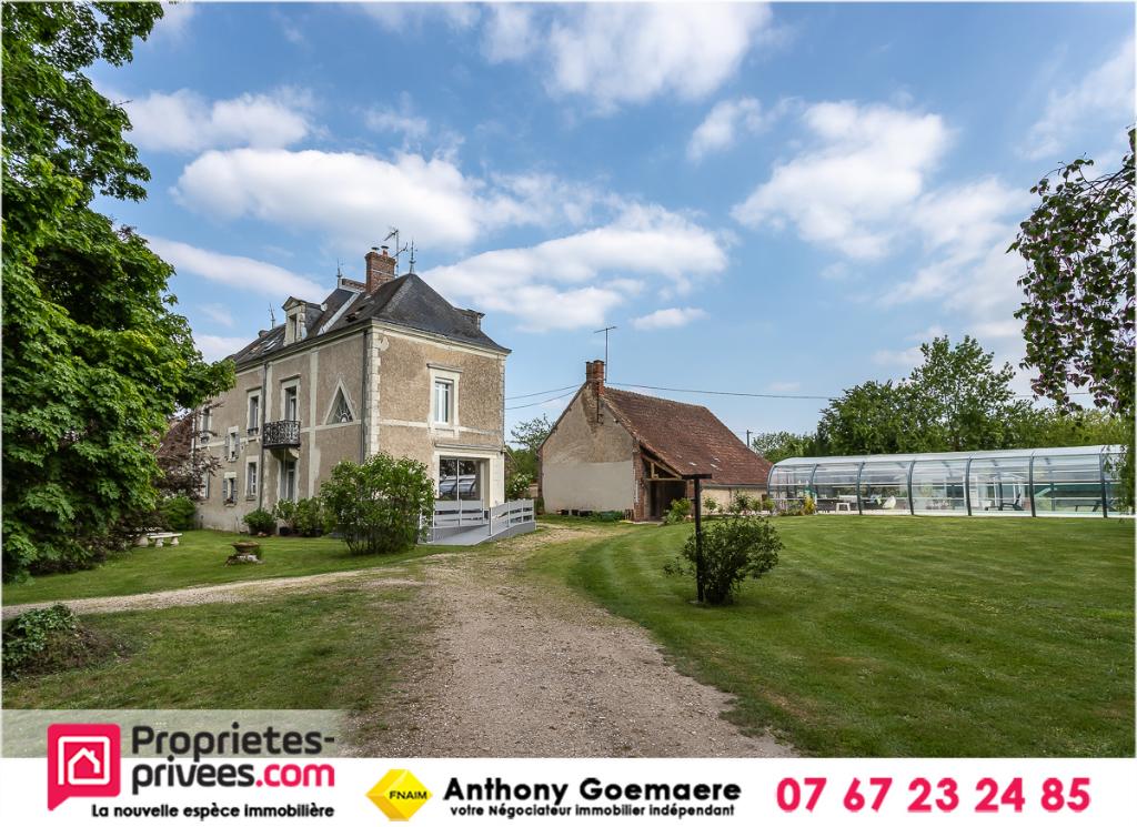 Maison de maître Saint Julien Sur Cher 10 pièces 270 m2