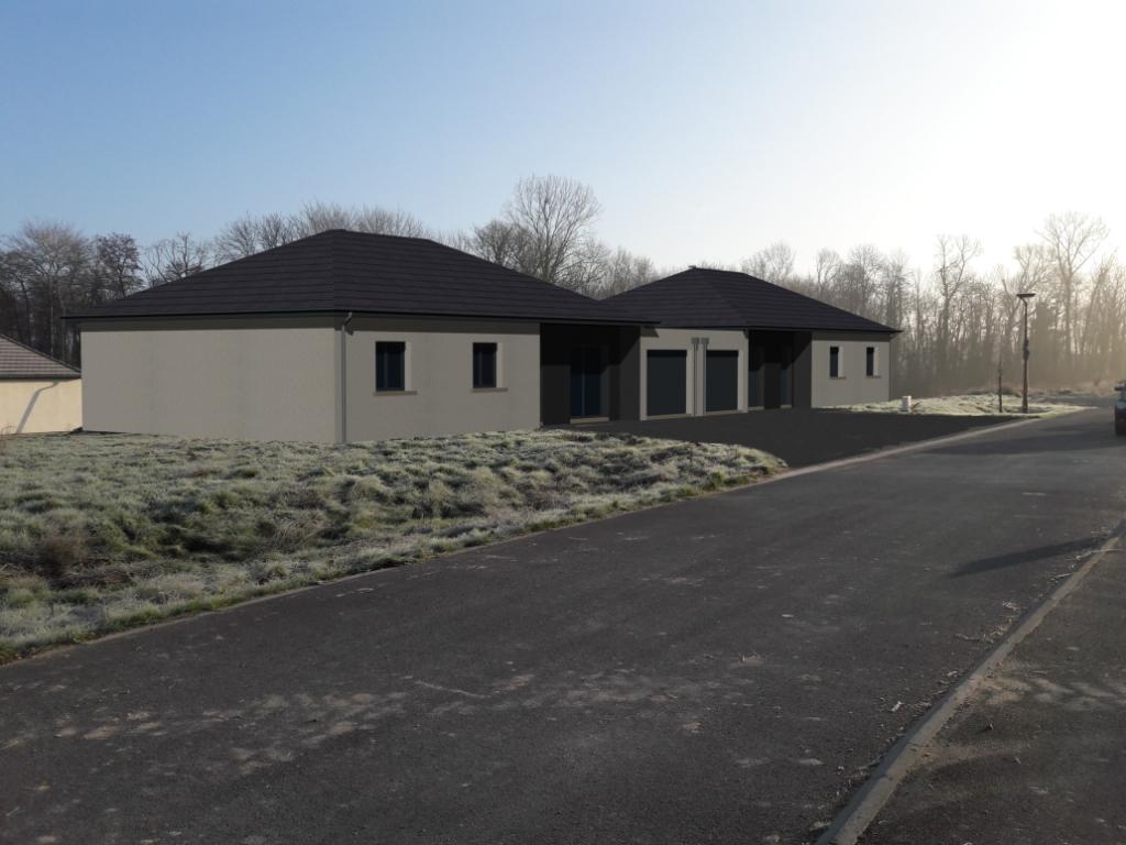 Pavillon plain pied RT2012 à Warmeriville