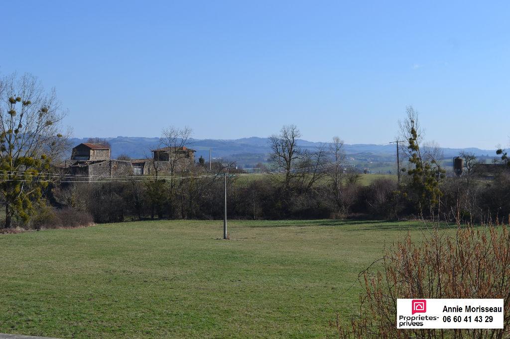 St Babel à 10 min Issoire, maison 110 m² avec vue, 4 pièces, petit jardin, garage