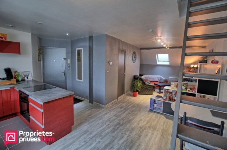 Vente T2 50 m² ANGERS (49100)