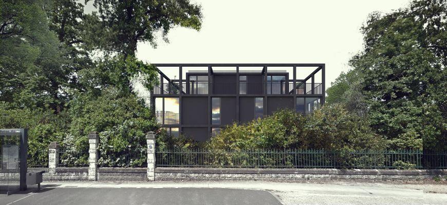 Pessac Alouette Appartement  T4 de 95 m2 avec terrasse et jardin privatif