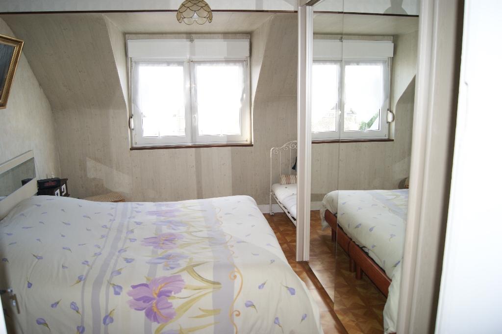 Courseulles sur Mer : Appartement 3 pièces, vue mer