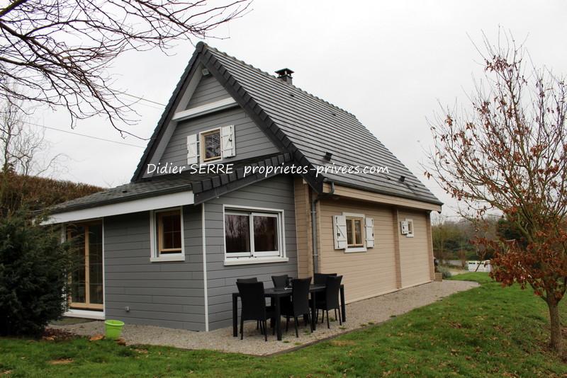 Maison à ossature en bois Damville ( 27240 ) 4 pièce(s) 93 m²