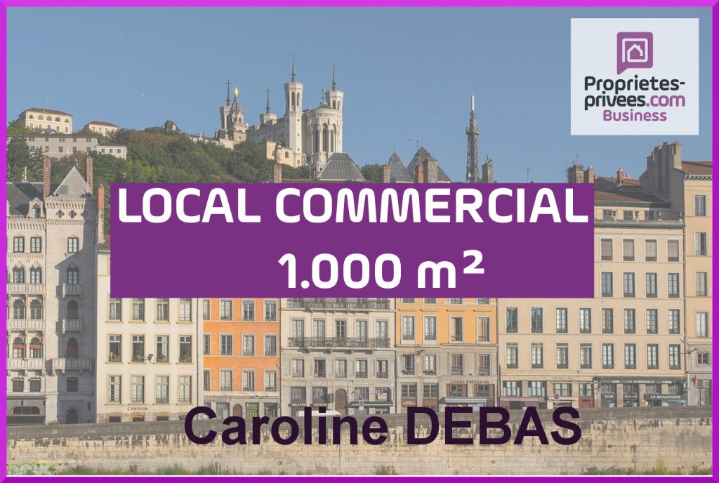 Droit au bail emplacement prestige Lyon 1000 m2