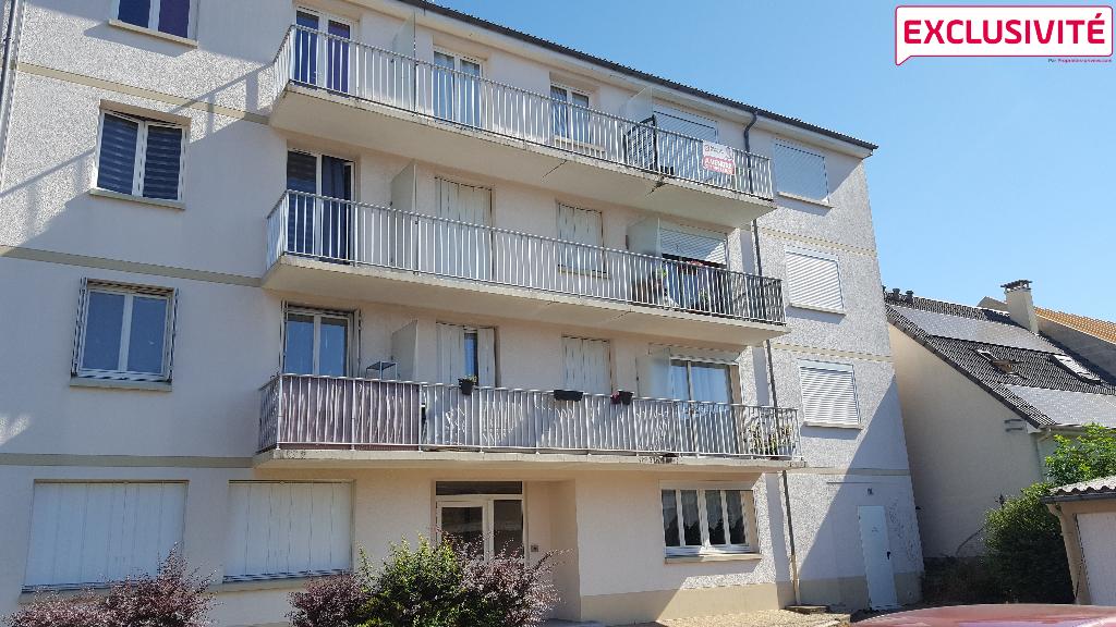 Appartement vendu loué Fleury Les Aubrais 3 pièces avec balcon