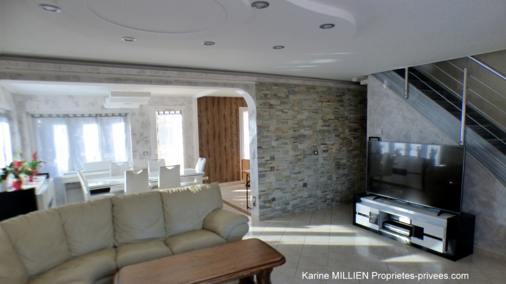 SAINT GERMAIN SUR AVRE 27320 Maison récente - 1 étage - 4 chambres - Piscine hors sol - Sous sol - Garage - Terrain - 249 000  HAI