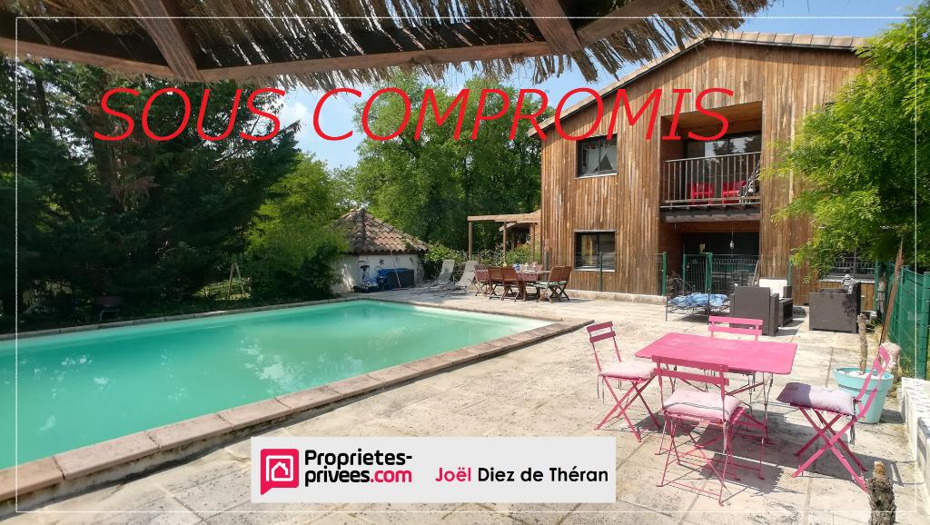 Nord Toulouse 31620 vente Maison 7 pièce(s) 205 m2 sur 4300 m² de terrain arboré