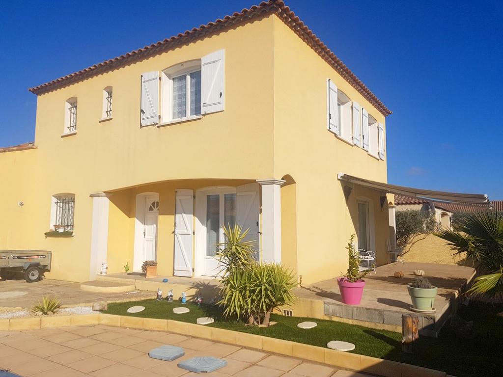 Belle villa de 140m² +garage+piscine sur 384m² de terrain