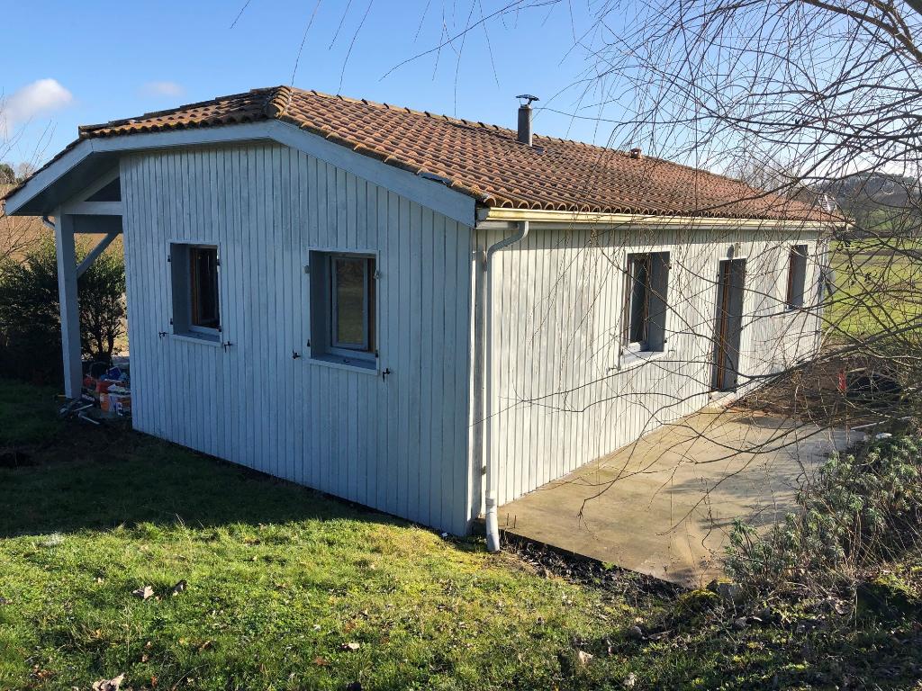 Proche Marmande - Charmante maison 2 pièce(s) sur terrain de 2000m2 sans vis à vis